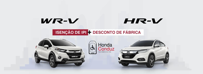 Banner Novo – Campanha PCD WR-V e HR-V