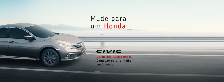 Mude para um Honda - Civic