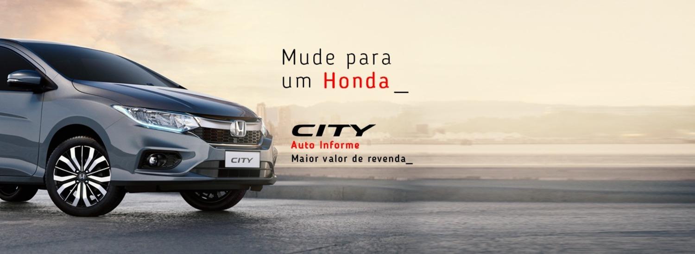 Mude para um Honda - City