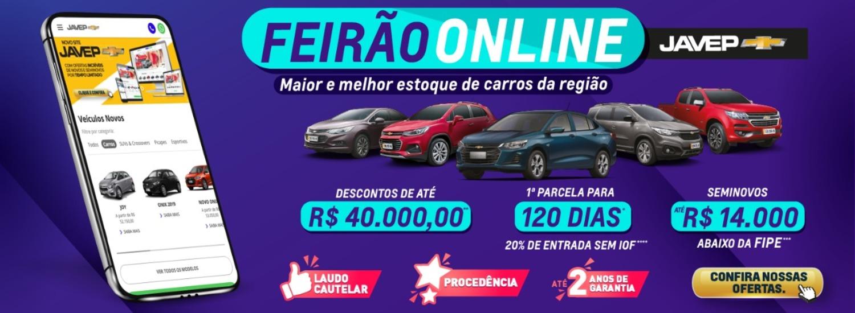 FEIRÃO ONLINE DE MAIO