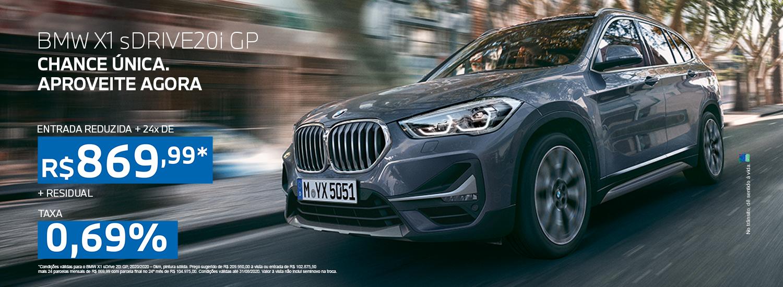 BMW X1 CAMPANHA AGOSTO 2020