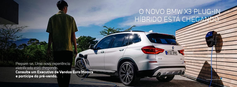 Novo BMW X3 Plug-in Hibrido