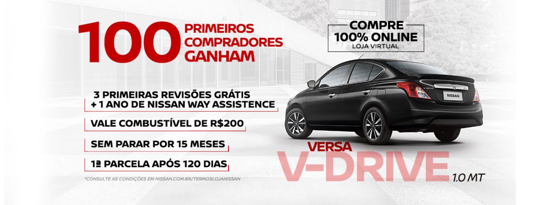 VERSA V-DRIVE - OFERTA SETEMBRO 2020