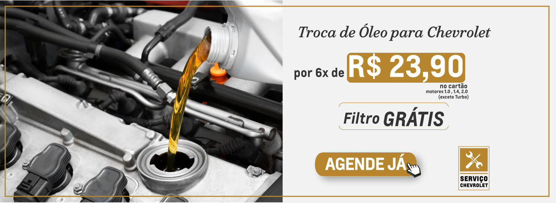 Troca de Oleo por 6 x 23,90 e filtro grátis 01 Outubro 2020