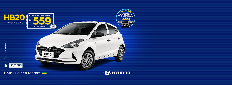 Hyundai em ação - HB20