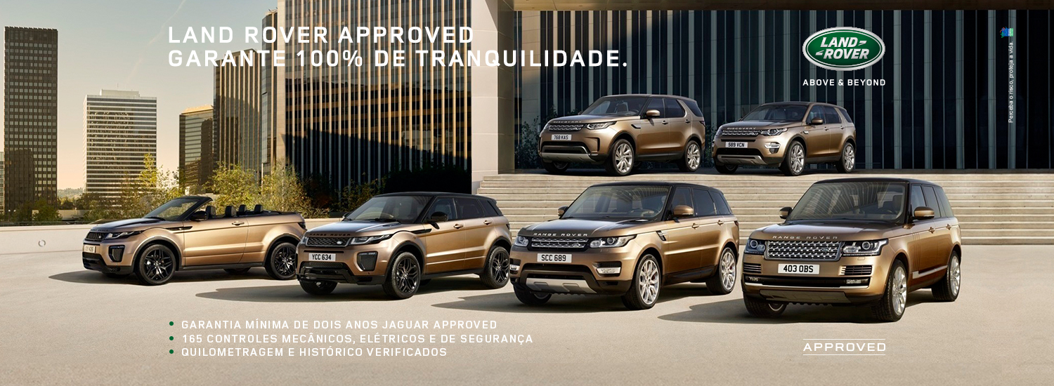 CAMPANHA LAND ROVER APPROVED - 05-10