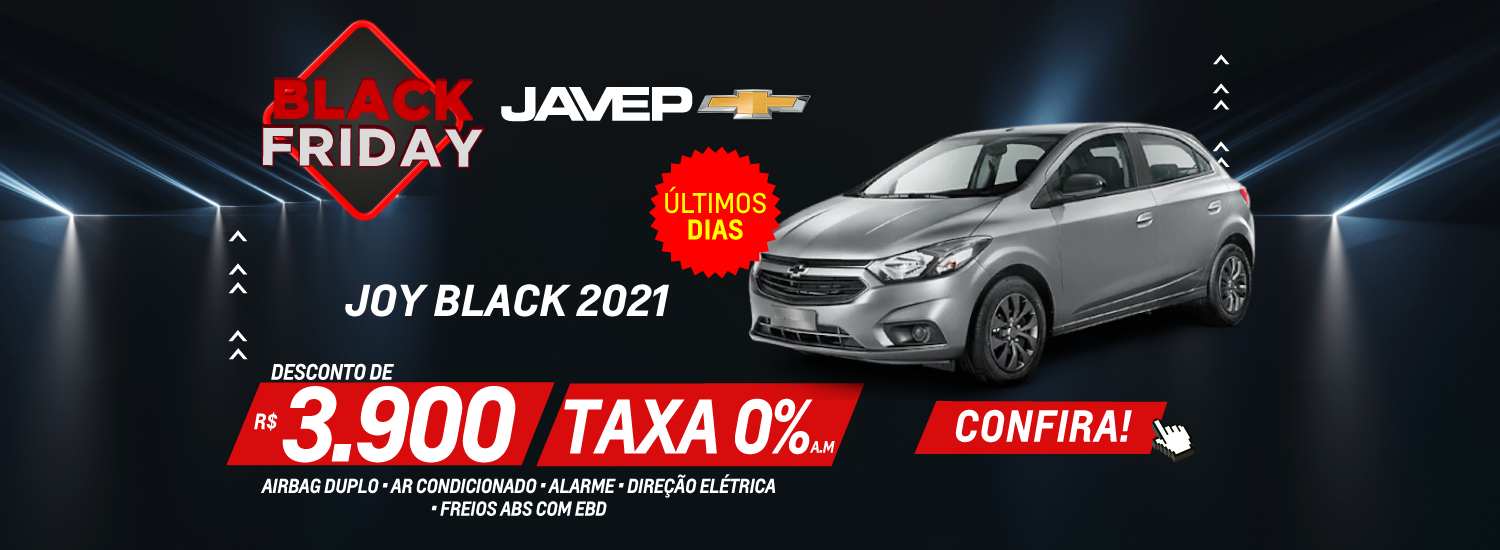 Antecipe Black Friday Joy 11 novembro 2020