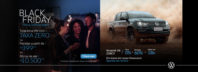 Black Friday Nova Volkswagen // Amarok