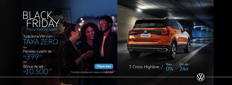 Black Friday Nova Volkswagen // T-Cross