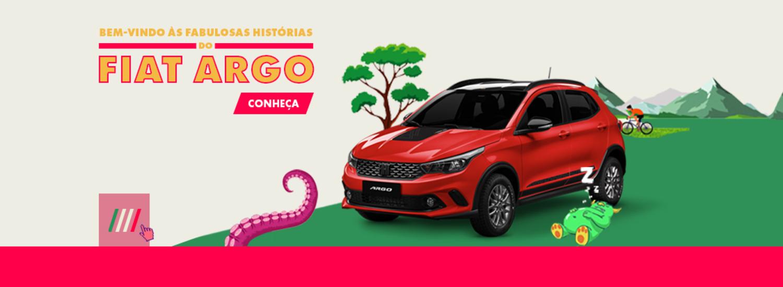 Bem-vindo às fabulosas histórias do Fiat Argo