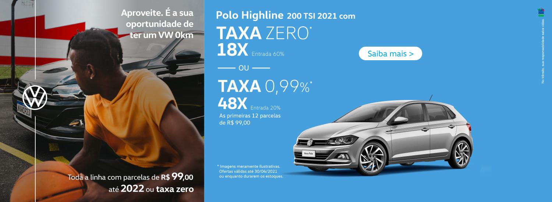 Polo Highline - Abril