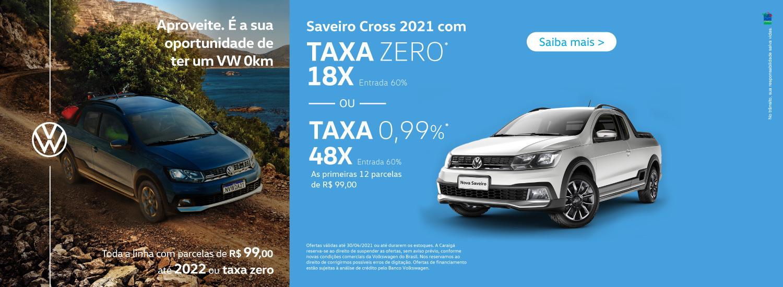Saveiro Cross - Abril