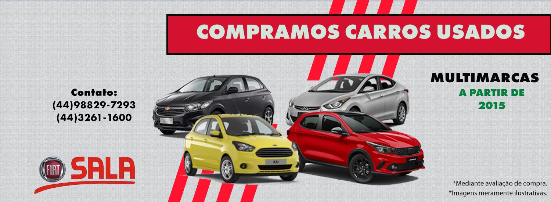 COMPRAMOS CARROS USADOS