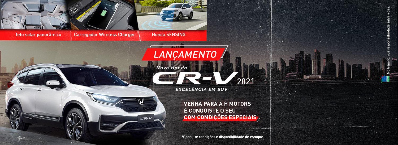 Novo CRV 2021