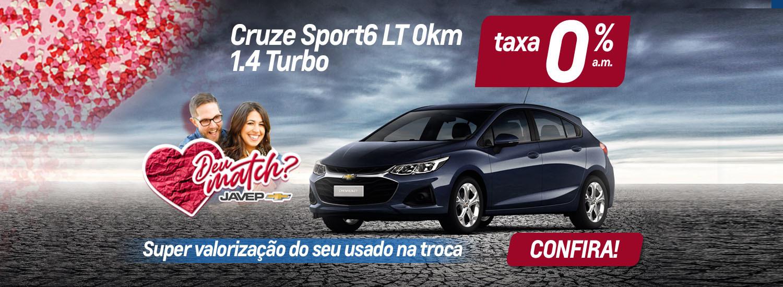 Cruze Spotr6 Taxa 0% a.m. 19 maio 2021