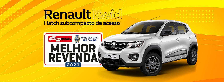 Renault Kwid Melhor Recompra do Brasil