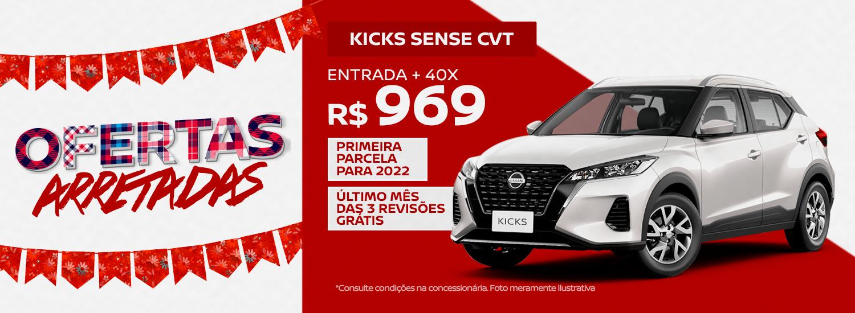 São João Nissan - Kicks Sense