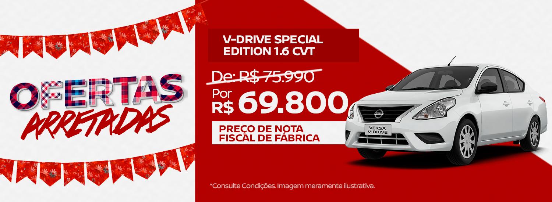 São João Nissan - Versa V-drive Special Edition