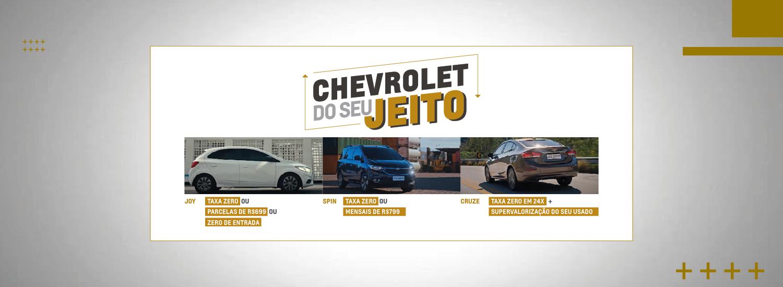 Chevrolet do Seu Jeito