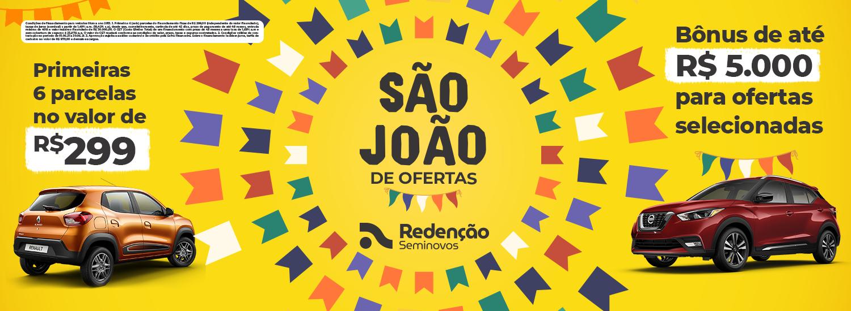 São João Redenção Seminovos 2021