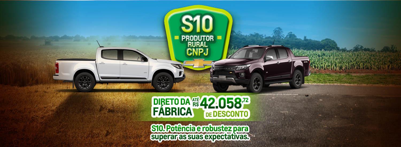 S10 com descontos especiais para CNPJ e Produtor Rural 11 junho 2021