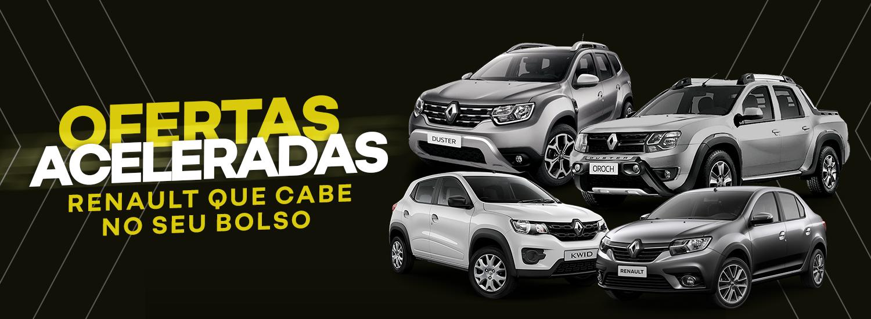 Ofertas Aceleradas Renault - Julho 2021