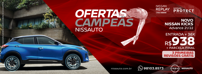 Ofertas Campeãs Nissan - Julho 2021