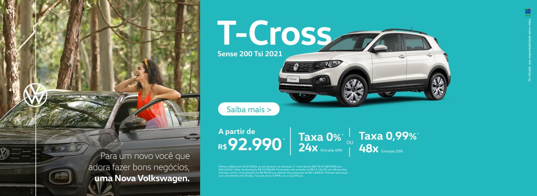 T-Cross Sense - Julho