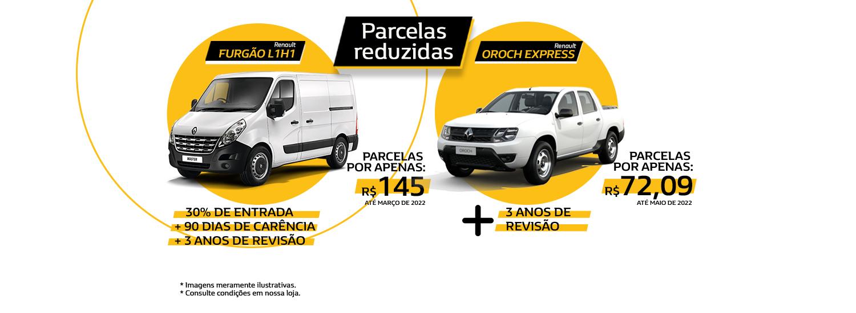 PARCELAS REDUZIDAS - OROCH + FURGÃO