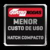 Quatro Rodas - Menor custo de uso - Hatch Compacto