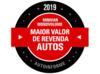 Maior valor de revenda Autos 2019