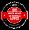 Maior Valor de Revenda 2019 (Híbrido/Elétrico)