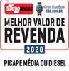 Melhor Valor de Revenda (Picape Média Diesel)