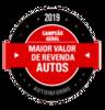 Campeão Geral Maior Valor de Revenda Auto 2019