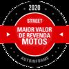 Campeão Street 2020 - Maior valor de revenda