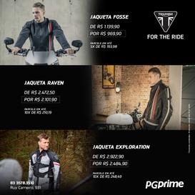 Jaqueta de Pilotagem Triumph