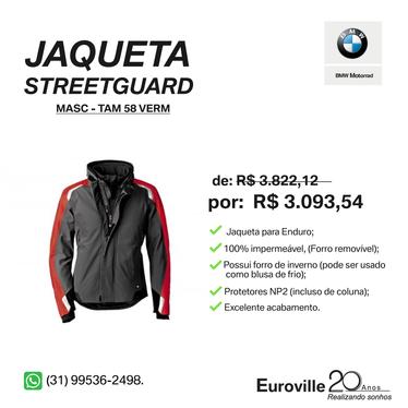 Model main comprar jaqueta streetguard masc tam 58 vermelho bc9eb528f8
