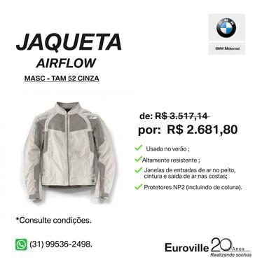 Model main comprar jaqueta airflow cinza tamanho 52 55bc6685be