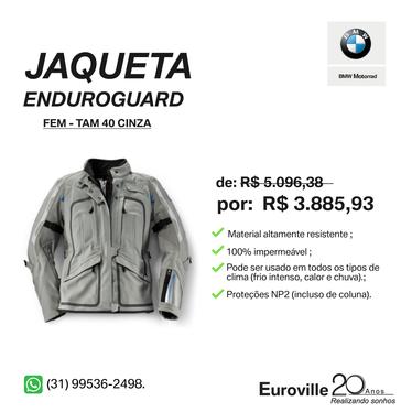 Model main comprar jaqueta enduroguard feminina cinza tamanho 40 a38fea1290