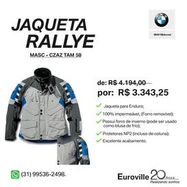 JAQUETA RALLYE SUIT CINZA - 58