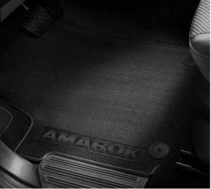 Jogo de Tapetes PVC Amarok Cabine Dupla