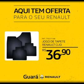 JOGO DE TAPETE RENAULT CLIO