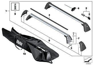 BMW Barras transversais