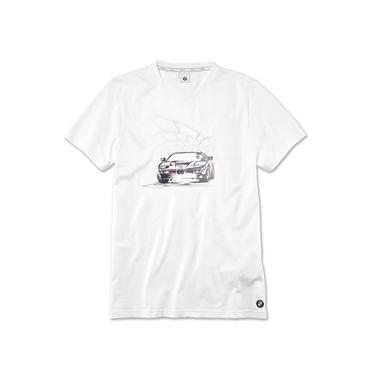 Model main comprar camiseta com grafismo bmw b83d7db015