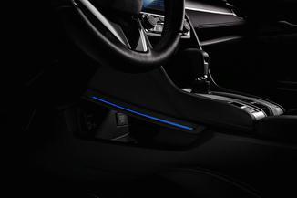 Iluminação do Console - Honda civic