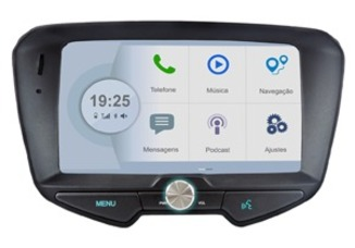 Central Multimidia Ford Smart Connection