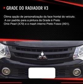 GRADE DO RADIADOR V3 TRITON SPORT
