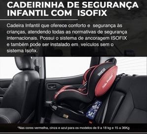 CADEIRINHA DE SEGURANÇA INFANTIL COM ISOFIX TODOS VEÍCULOS
