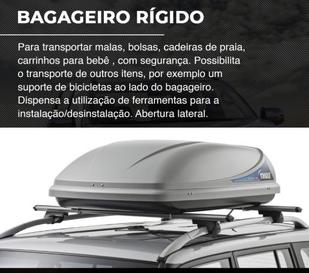 BAGAGEIRO RÍGIDO