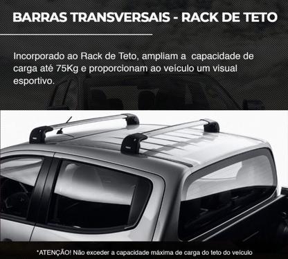 galeria BARRAS TRANSVERSAIS - RACK TETO
